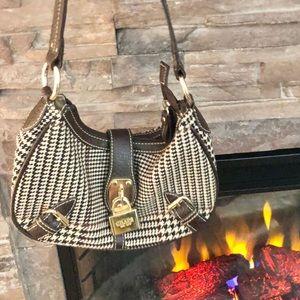 CHAPS Brown Plaid Bag